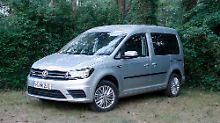 Firmen und Familien, aber auch Tempo-Kontrolleure schätzen den VW Caddy für ihre Zwecke.
