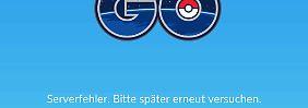 Start in 26 weiteren Ländern: Pokémon Go fällt komplett aus