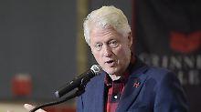 Bill Clinton ist der 42. Präsident der USA.
