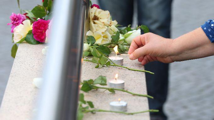 In München tötete am 22. Juli 2016 ein Amokläufer neun Menschen.