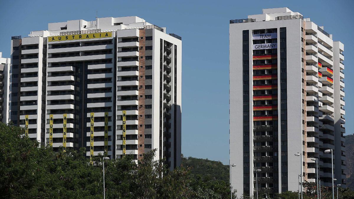 """Olympisches Dorf in Rio ist """"unbewohnbar"""""""
