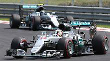 Lehren aus dem Ungarn-GP: Hamiltons Verschleiß ist Rosbergs Hoffnung