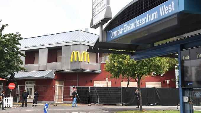 Die McDonald's-Filiale, in der der Amokläufer fünf von insgesamt neun Menschen tötete.