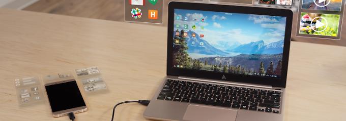 Laptop-Ersatz für 99 Dollar: Superbook macht das Handy zum PC