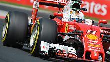 Ferrari-Debüt in Hockenheim: Geduldiger Vettel bricht mit seinen Prinzipien