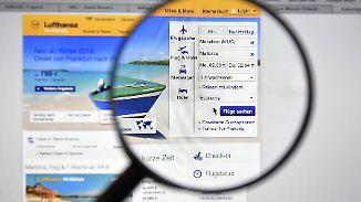 Onlinebuchungen bei den Airlines können billiger als bei Vergleichsportalen sein.