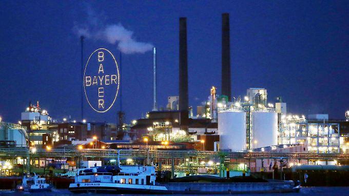Es läuft gut für Bayer.