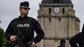 Terrorattacke in französischer Kirche: Attentäter trug elektronische Fußfessel