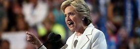 US-Präsidentschaftsrennen eröffnet: Clinton schießt scharf gegen Trump