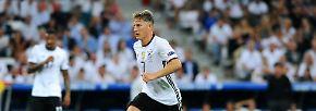 Schluss nach 120 Spielen für den DFB: Schweinsteiger sagt Servus! Kämpfer, Kapitän, Weltmeister