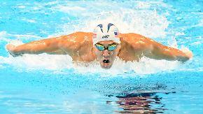 Olympia-Porträt: Michael Phelps, Schwimmen