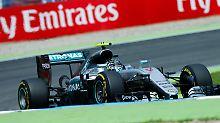 F1: Großer Preis von Deutschland: Rosberg fährt in Hockenheim auf die Pole