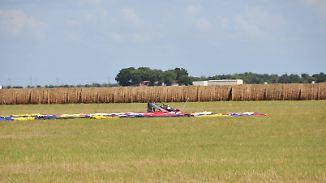 Unglück in Texas: Alle 16 Passagiere sterben bei Absturz von Heißluftballon