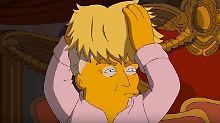"""Serie lüftet Trumps Geheimnis: """"Simpsons"""" legen sich im US-Wahlkampf fest"""