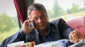 Gabriel ist derzeit auf Sommertour in Mecklenburg-Vorpommern unterwegs.