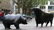 Wall Street fängt sich: Dax macht nur wenig Boden gut