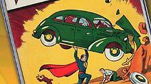 Rendite mit Superkräften: Superman-Comic für eine Million versteigert