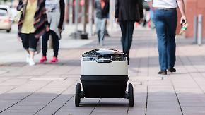 20 Kilo, sechs Räder und ein Ziel: Paketboten zittern vor diesem Roboter