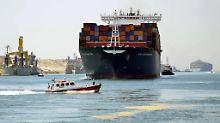 Ägyptens Geldregen bleibt aus: Suezkanal erfüllt die Hoffnungen nicht