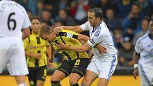 Mit einem 24-minütigen Einsatz feiert Mario Götze seine Rückkehr zum BVB.