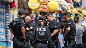 Ein mulmiges Gefühl bleibt: Sicherheitskontrollen bei Volksfesten werden verschärft