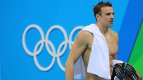 """Das war's für den """"Paule"""". Seine Olympia-Karriere ist beendet."""