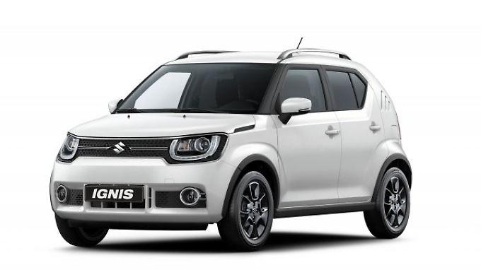 Kantiger kleiner Stadtfloh: Anfang 2017 bringt Suzuki den völlig neuen Ignis zu den deutschen Händlern.