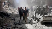 In Aleppo, der einst größten Stadt Syriens, tobt seit langem der  Bürgerkrieg.