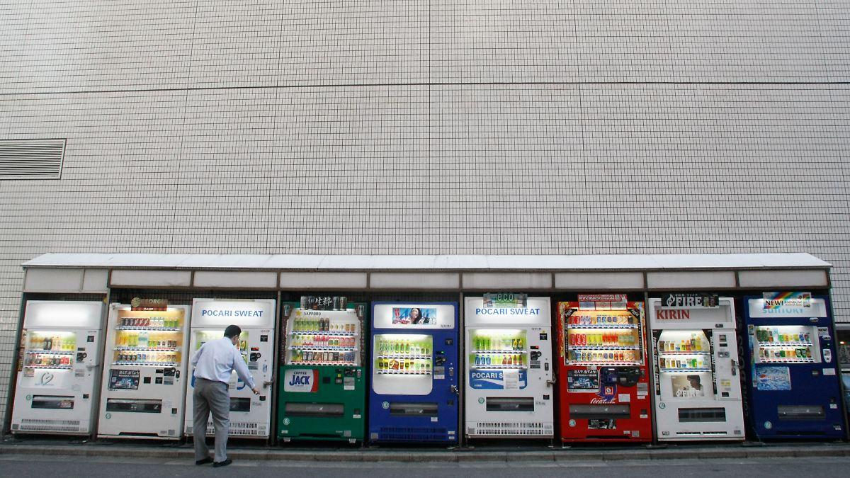 automaten boom in japan maschinen werden immer intelligenter n. Black Bedroom Furniture Sets. Home Design Ideas