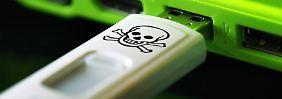 Malware-Quelle als Werbegeschenk: O2 verschickt USB-Sticks mit Virus