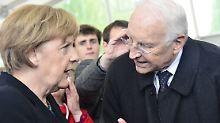 Eigener CSU-Kanzlerkandidat 2017?: Stoiber will sich nicht zu Merkel bekennen