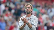 Erster Spieltag der Premier League: Klopps Liverpool schlägt Arsenal spektakulär