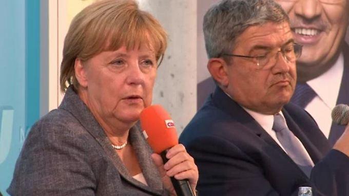 """Kanzlerin auf Wahlkampf-Tour: Merkel hat in Mecklenburg-Vorpommern """"eisige Stimmung zu erwarten"""""""