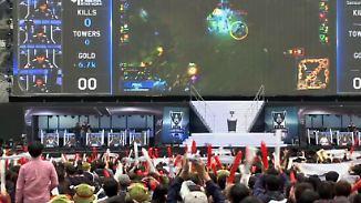 Anerkannter Beruf in Südkorea: Profi-Computerspieler füllen ganze Fußballstadien