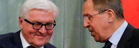 """""""Blockkonfrontation wieder aktuell"""": Steinmeier sieht Frieden bedroht"""