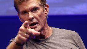 """David Hasselhoff mischt jetzt bei """"Call of Duty"""" mit."""
