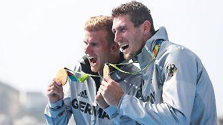 "Kanu-Team feiert Goldmedaillen: ""Da hätten wir vor drei Monaten nicht mit gerechnet"""