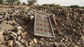 Auf Befehl Al-Mahdis zerstört: Ein altes Mausoleum in Timbuktu.