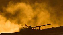 Feuer auf Islamisten und Kurden: Türkische Armee greift IS-Stellungen an