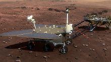 Der Rover soll Bodenproben nehmen und nach Anzeichen für Wasser suchen.