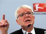 DFL-Boss Reinhard Rauball hat wenig Verständnis für den plötzlichen Sinneswandel von DFB-Vize Rainer Koch.