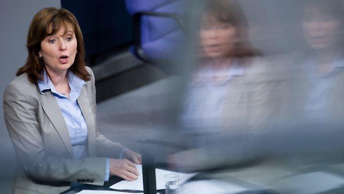 Petra Hinz ist immer noch Bundestagsabgeordnete. Wenngleich sie dort nicht mehr auftritt.