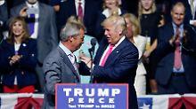 "Brexit-Initiator in Washington: Wird Farage Trumps ""inoffizieller"" Berater?"