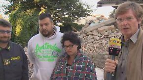 """Überlebende berichten aus Amatrice: """"Wir fanden sie im Bett - umarmt"""""""
