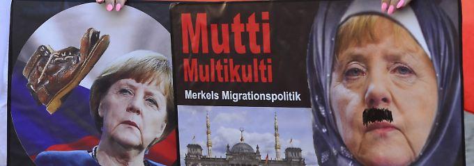 """""""Merkel muss weg"""": Kanzlerin stößt in Tschechien auf Widerstand"""