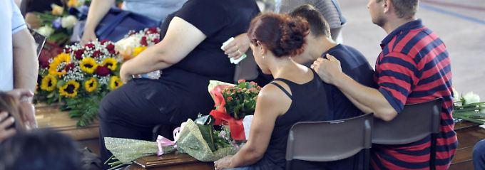 Dank an die Helfer: Italien gedenkt der Opfer des Erdbebens