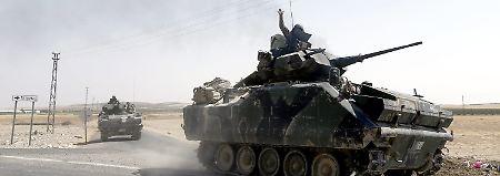 Eskalation in Syrien: Türkei und Kurden treffen aufeinander