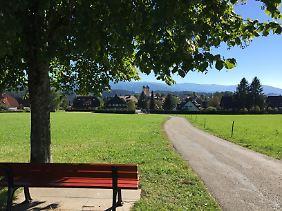 Idylle im Hochschwarzwald. Sankt Märgen liegt in der Nähe von Freiburg.