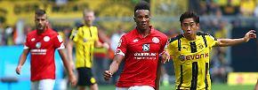 Borussia Dortmund - FSV Mainz 2:1 (1:0)