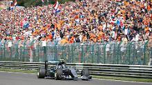 GP von Belgien: Rosberg gewinnt, Hamilton beeindruckt